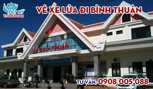 Vé xe lửa đi Bình Thuận